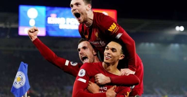 Liverpool Extend Lead In Title Race After Crushing Leicester