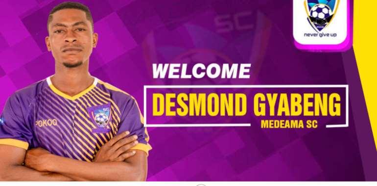 Desmond Gyabeng Joins Medeama SC