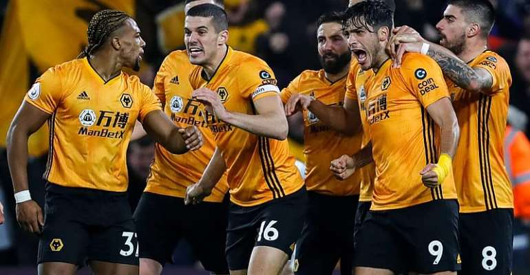 PL: Brilliant Wolves Fight Back To Beat Man City 3:2