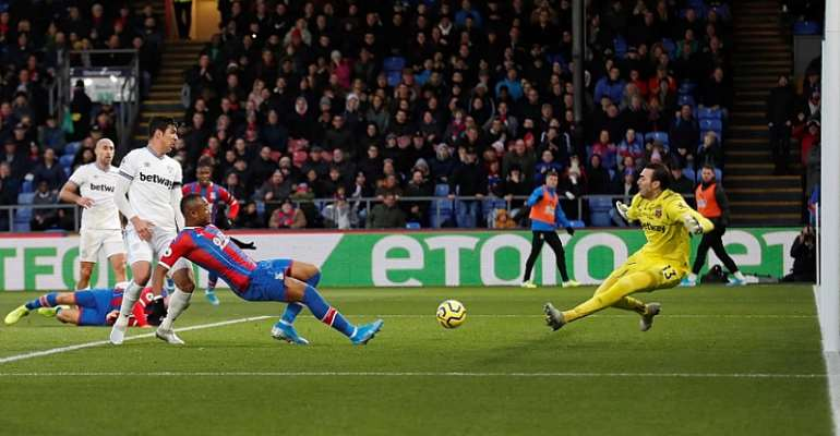 Crystal Palace Boss Praises Jordan Ayew For His Classy Strike Against West Ham
