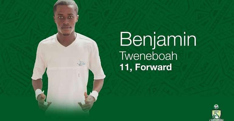 Benjamin Tweneboah Renews Contract With Elmina Sharks