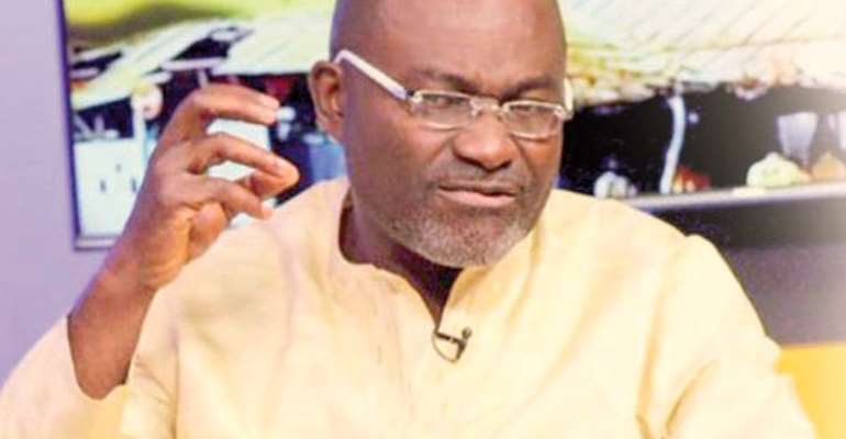 Kennedy Agyapong, Member of Parliament for Assin Central Constituency, photo credit: Ghana media