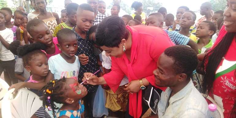 Dome Kwabenya Constituency: MP Crowns Year With Christmas Party For 1500 Children