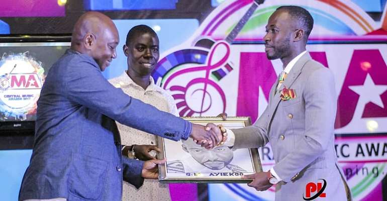 Central Region Honours Okyeame Kwame
