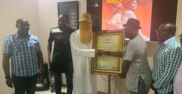 Anas Aremeyaw Anas Grabs Star Award