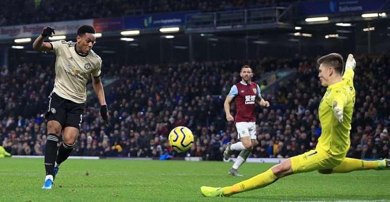PL: Martial, Rashford Ease Improving Man Utd Past Burnley