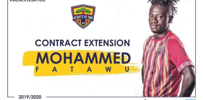 Fatawu Mohammed Signs New Hearts of Oak Contract