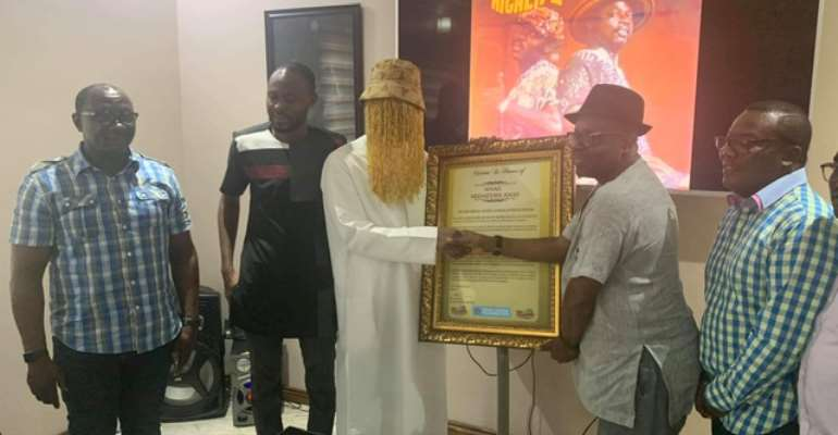 Anas Appointed MUSIGA Anti-Corruption Star