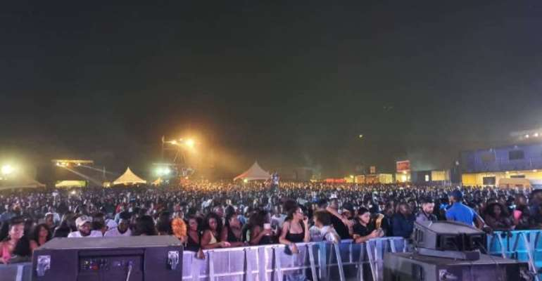 Untamed (venue for Detty Rave) was packed with patrons who were eager to witness great performances from billed artistes