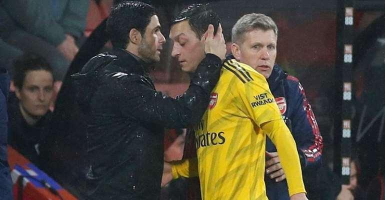 Arteta Aims To Solve Ozil Issue As Chelsea Clash Looms