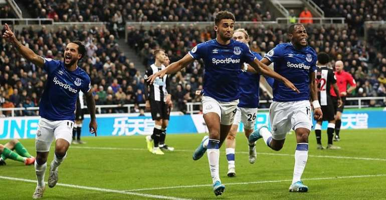 PL: Calvert-Lewin Double Gives Everton Win At Newcastle