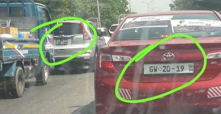 Trending photo of different cars with same registration number