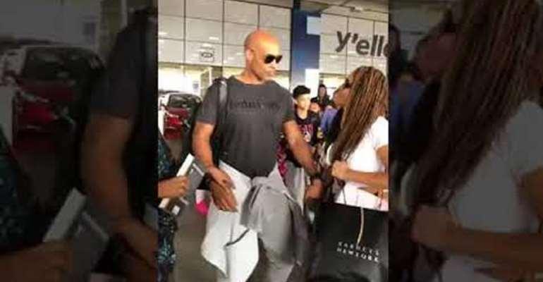 Boris Kodjoe, Beyonce's siblings and mum arrive in Ghana
