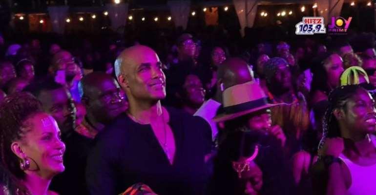 Boris Kodjoe, Nicole Ari Parker Storm Afrochella At El Wak