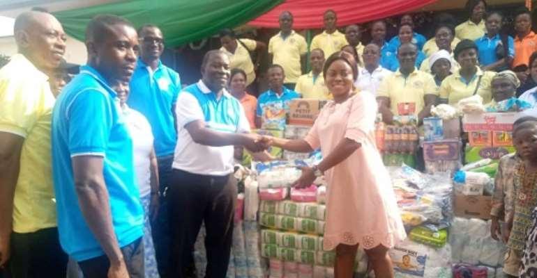 Bantama A/G donates to Prisons, Kumasi Children's Home