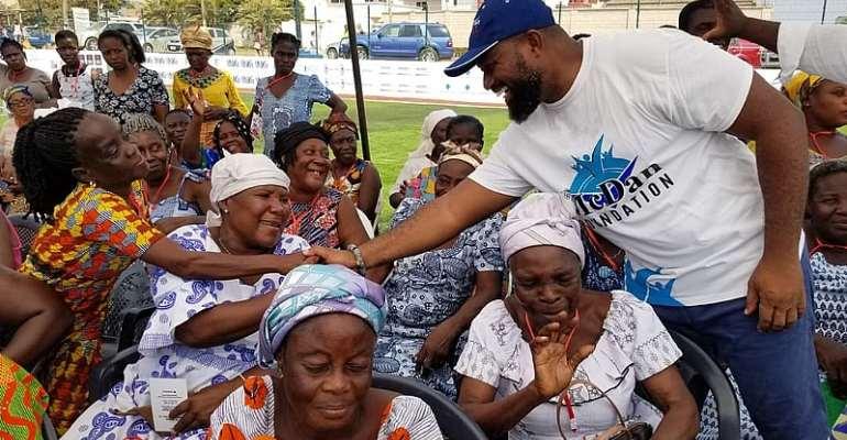 McDan Foundation Feeds Over 3,000 Widows At La