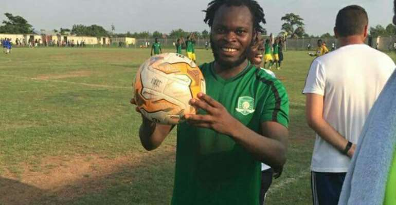 GHPL: Veteran Striker Yahaya Mohammed Scores First Hat-Trick Of 2019/20 Campaign
