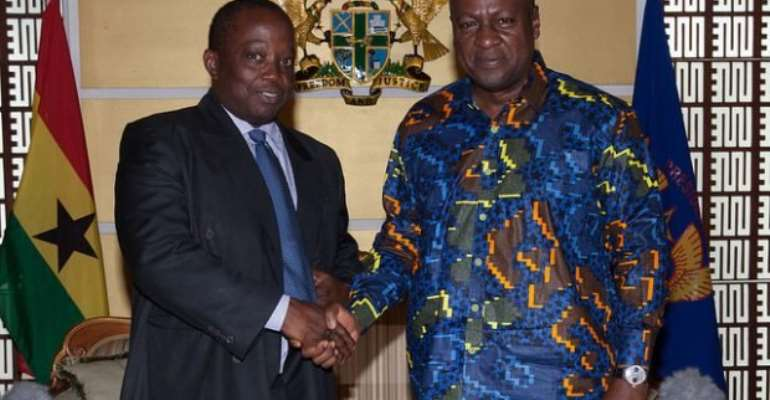 Mahama inaugurates Auditor-General thought to have 'dodged' appointment