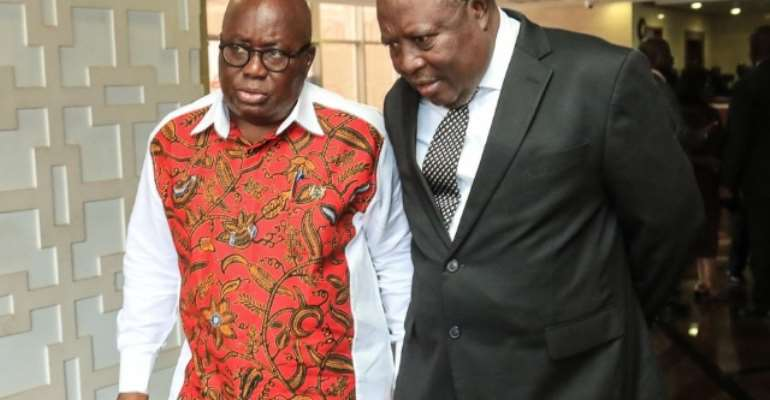 The 5 Corrupt Groups That May Derail Akufo-Addo's And Martin Amidu's Fight Against Corruption