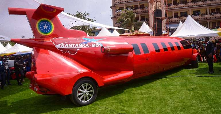 Check The Latest Kantanka Car-Plane [Video & Photos]