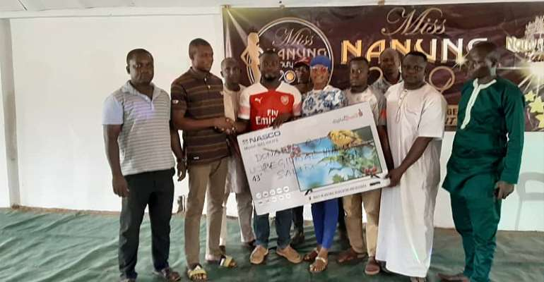 Northern Regional Minister Supports Miss Nanung Beauty Pageant