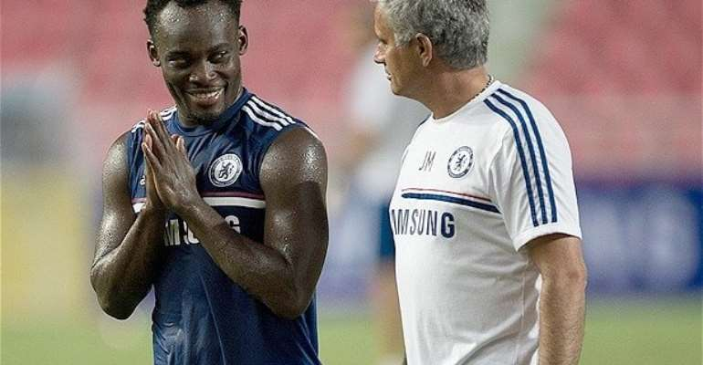 Michael Essien, who spent nine years playing at Chelsea, was capped by Ghana on 58 occasions