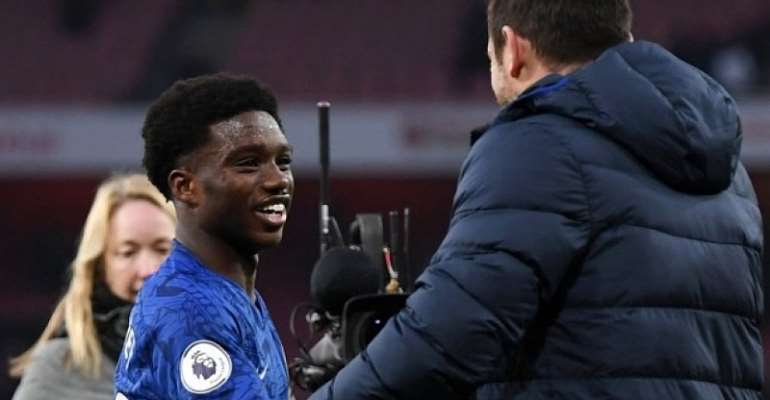 Frank Lampard Hails Ghanaian Youngster Tariq Lamptey After Chelsea Debut