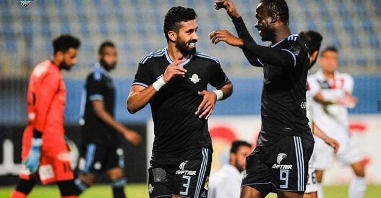 CAF CC: John Antwi Scores To Maintain Pyramids FC Unprecedented Run
