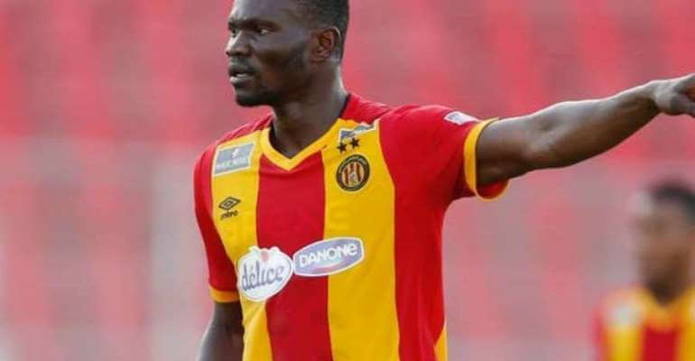 Kwame Bonsu: Injured Esperance Midfielder To Spend 3 Weeks On The Sidelines