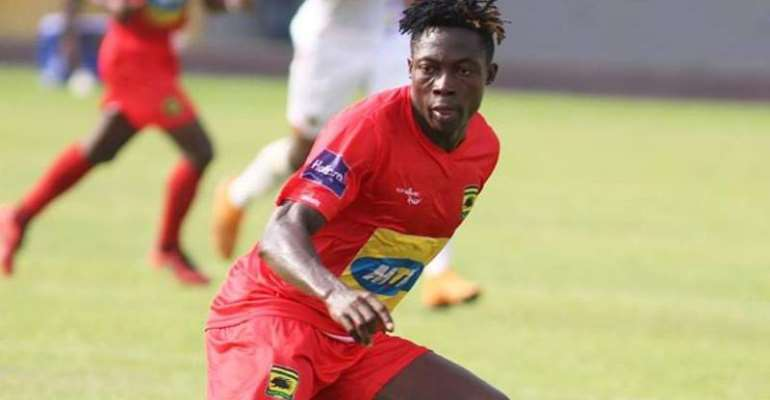 Medeama SC Celebrates Justice Blay After Netting First GPL Goal For Kotoko