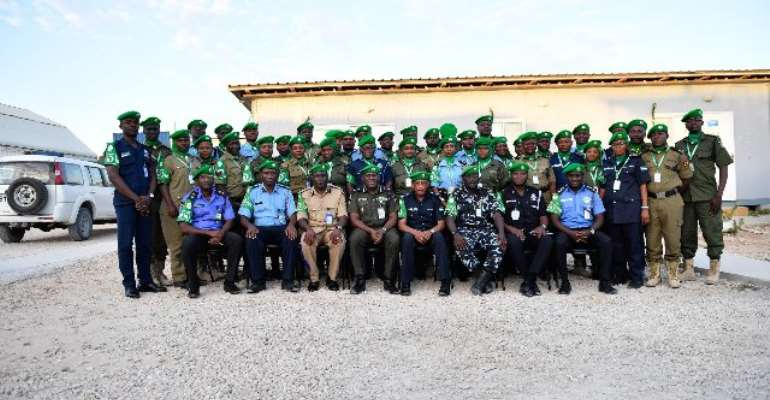 Newly Deployed African Union Mission In Somalia Complete Induction