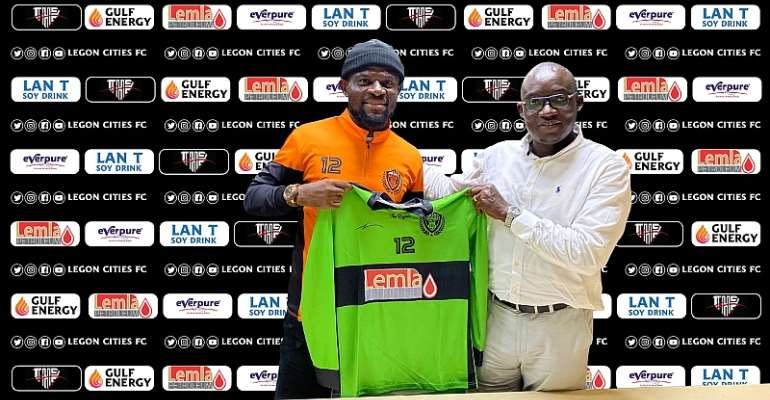 OFFICIAL: Legon Cities FC Sign Veteran Goalkeeper Fatau Dauda