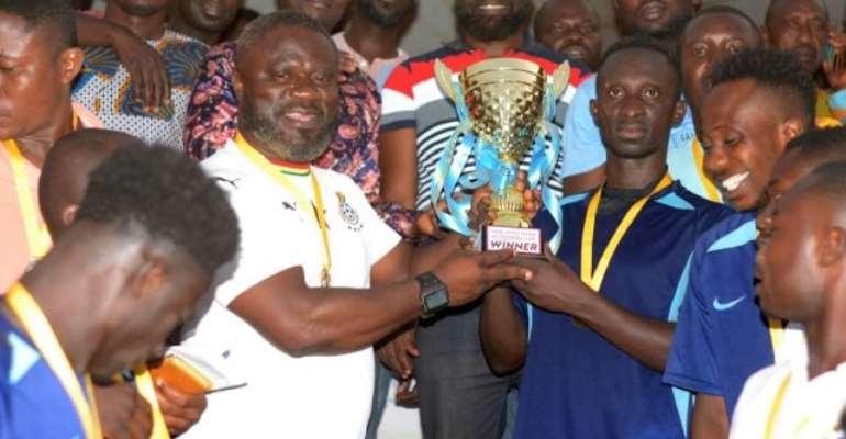 Sukuumu FC Wins Hon. Kwadwo Baah Agyemang Community Sports Gala