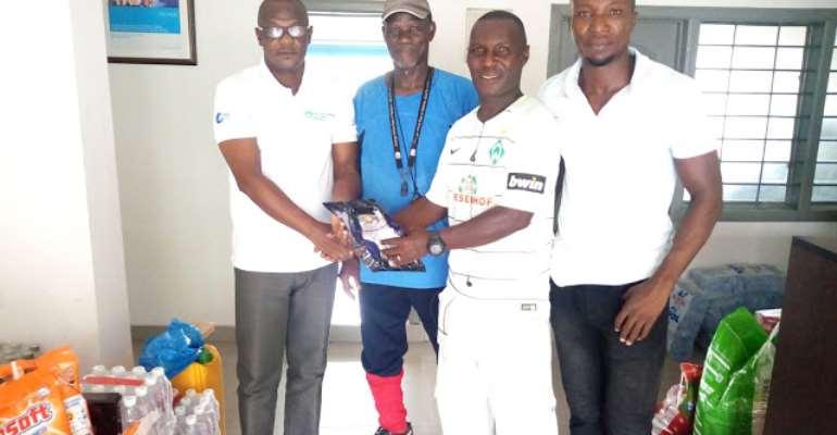 Jonah Osabutey: Werder Bremen Forward Supports Tema SOS Village