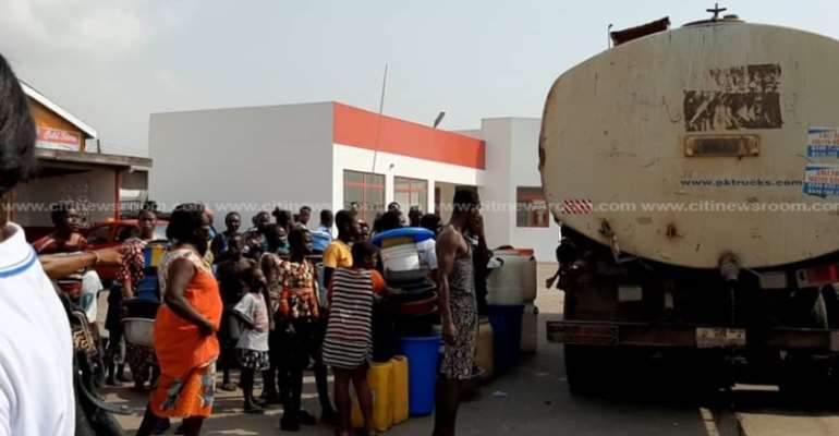 GWCL Distributes Water To Mamprobi, Chorkor And Korlegono After Shortage