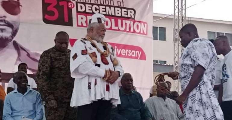 [Full Statement] Rawlings' Addresses 38th Anniversary Of 31 December Revolution