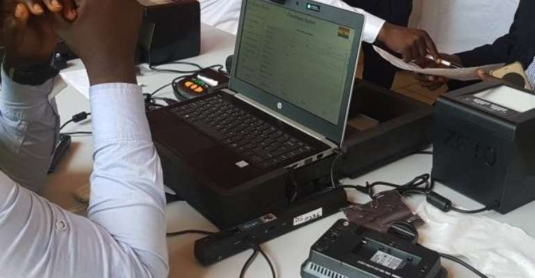 Ghana Card Registration Laptops Stolen At AsokoreMampong