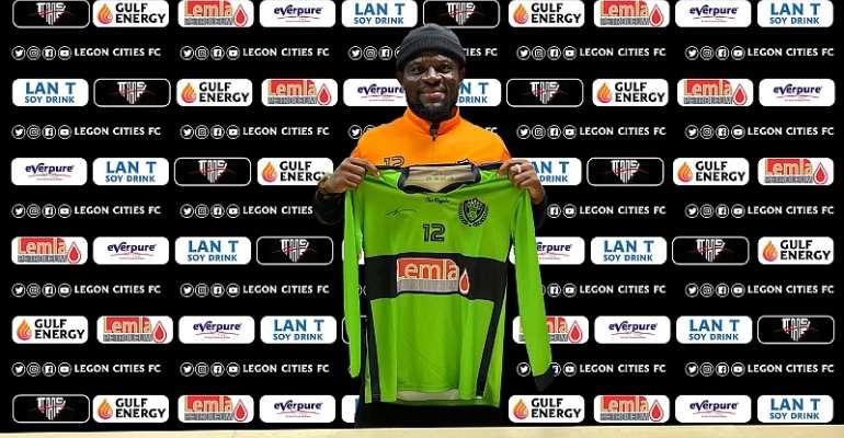 GPL: Fatau Dauda Completes Legon Cities FC Move [PICTURES]