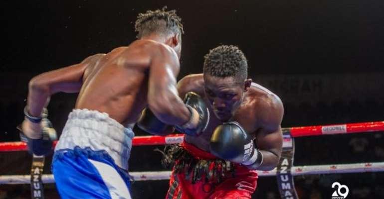 'Daddy Lumba' Throws Away Lead In Azumah Nelson Fight Night