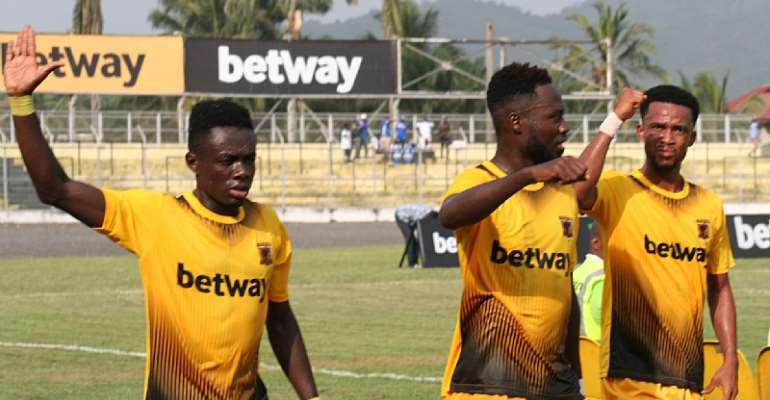 VIDEO: Watch Highlights Of AshGold's 3-0 Win Against Olympics In The GPL