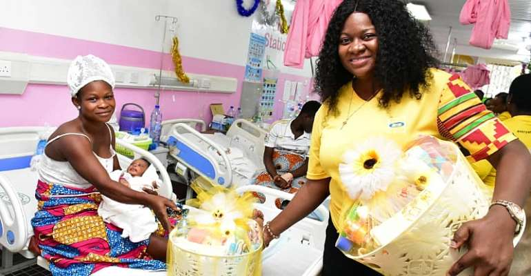 "MTN Ghana Foundation Gives Rousing Welcome To 250 ""Christmas Babies"""