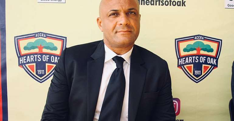 BREAKING NEWS: Hearts Of Oak Part Ways With Head Coach Kim Grant