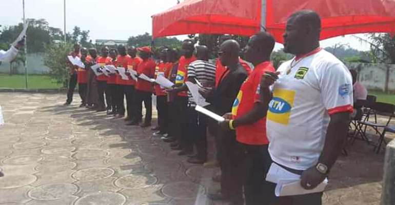 New Kotoko NCC Executives Sworn Into Office
