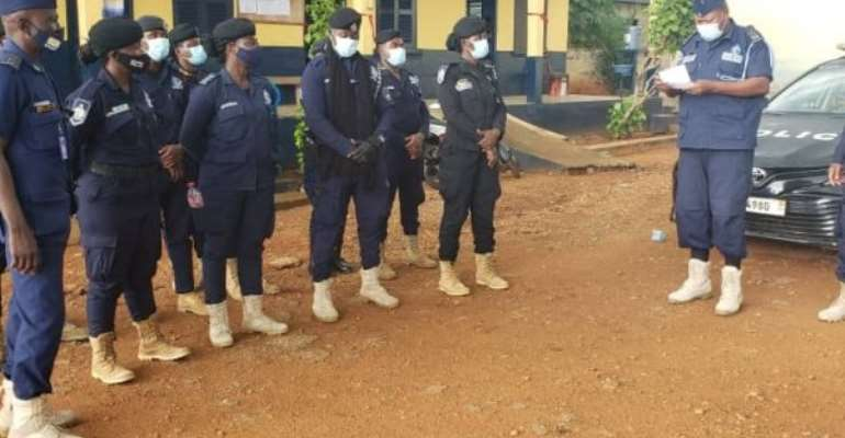 We'll deal with miscreants during crossover church services — Akatsi Police