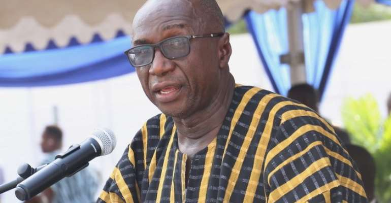Minister of Interior Ambrose Dery