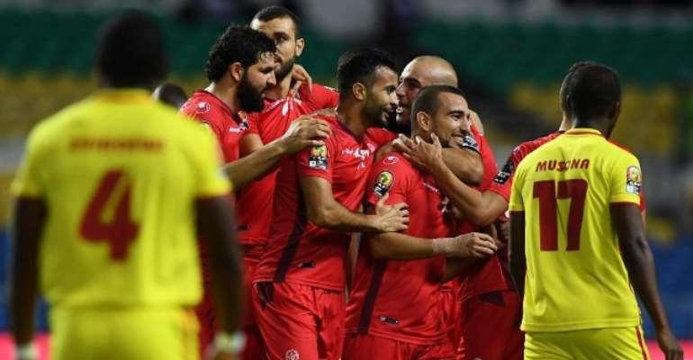 Four-star Tunisia thump Zimbabwe to reach quarter-finals