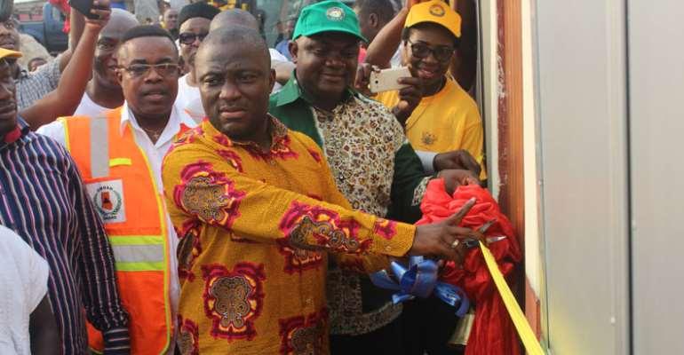 Accra Metro Targets 'One Household', 'One Toilet'