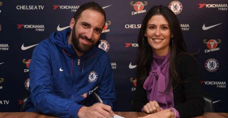 Higuain Seals Loan Move To Chelsea