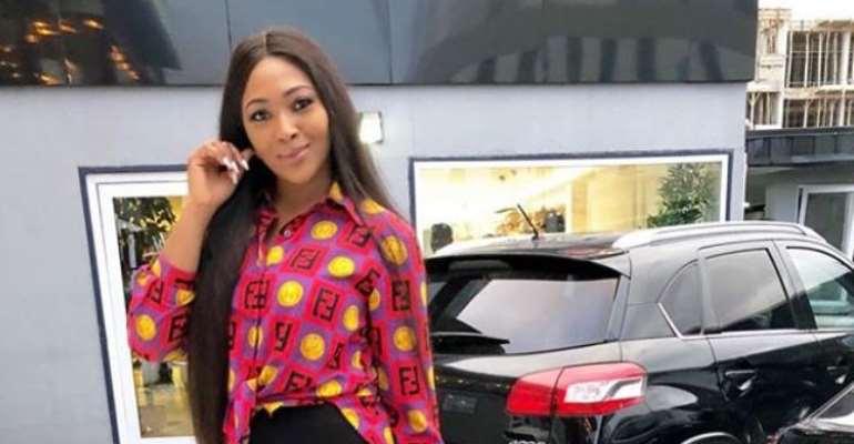 Nollywood Actress, Lilian Esoro Flaunts new car