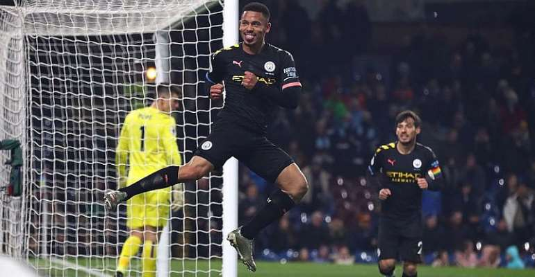 PL: Man City Bounce Back To Thrash Burnley